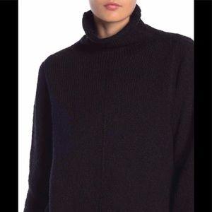 Free Press Black Sweater Turtleneck Sz Medium NWT
